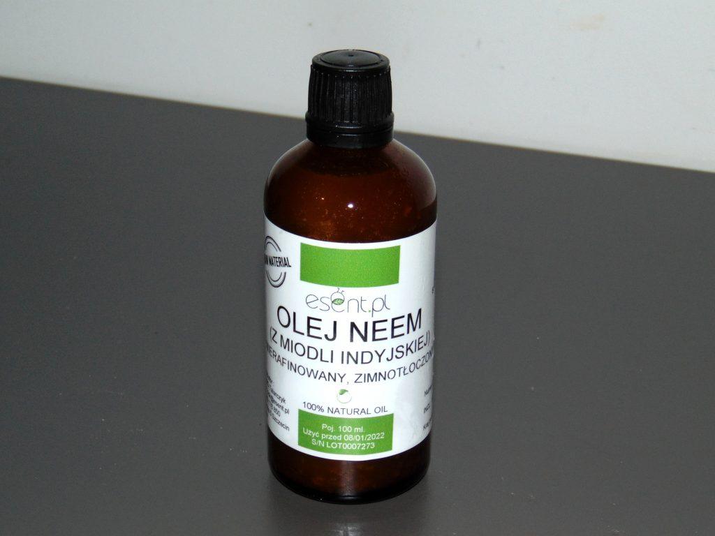 olej neem - butelka